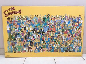 THE SIMPSONS CHARACTER LAMINATED POSTER