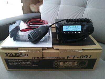 YAESU FT-891 ALL MODE HF+VHF6M TRANSCEIVER GOOD CONDITION