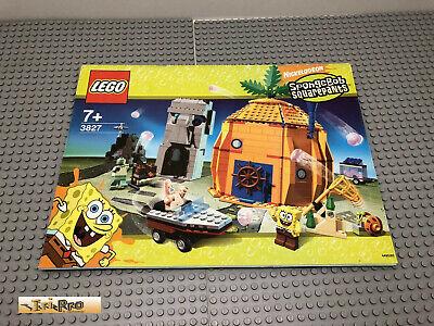 Lego 3827 Building Instruction No Bricks Spongebob
