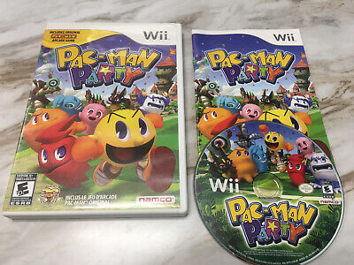 Pac-Man Party (Nintendo Wii & Wii U) Complete! Great Shape! Fast/Free Shipping!!