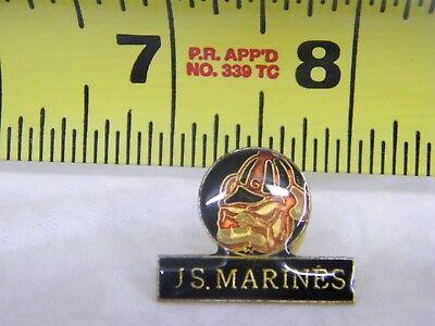VIntage U.S. Marines Hat Lapel and Back