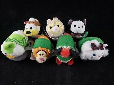 Disney Tsum Tsum Christmas Pluto Figuro Tigger Marie Mickey Miss Bunny Louie