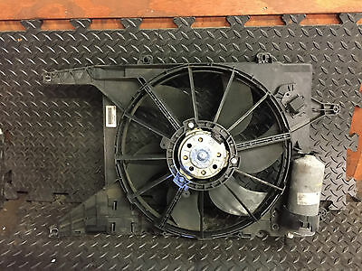 2002 MK1 RENAULT SCENIC ENGINE RADIATOR COOLING FAN 1.4 16 VALVE MPI A/C TYPE
