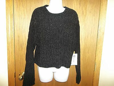 New Womens Reference Point Younkers Black Sweater Size L Msp  36 00