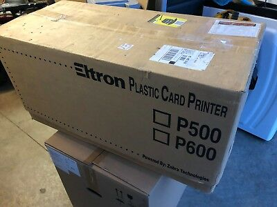 Eltron Card Printers - Eltron P500C Thermal Card Printer,  120385-011 with Lamination-NEW IN BOX
