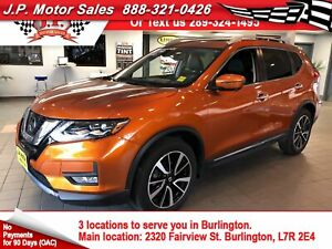 2017 Nissan Rogue SL Platinum, Auto, Navigation, Pan Sunroof, AW