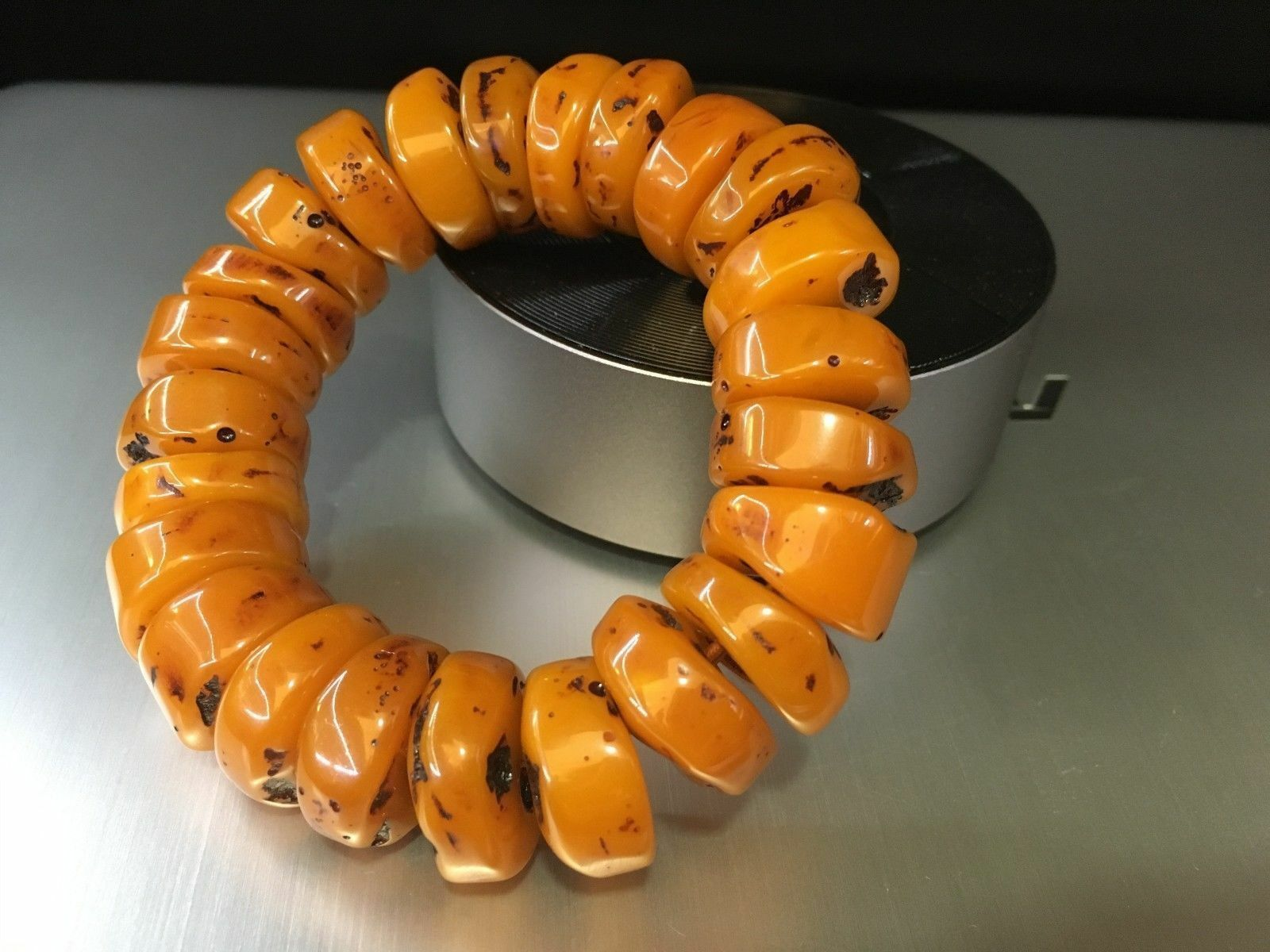 tibet mila bracelet mala prayer bead amber resin necklace baltic sea