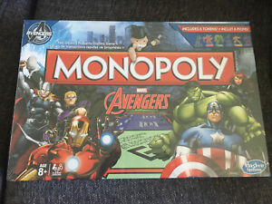Sealed avengers monopoly