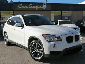 2015 BMW X1 xDrive28i Sportline - H. Red Leather, Pano, Nav