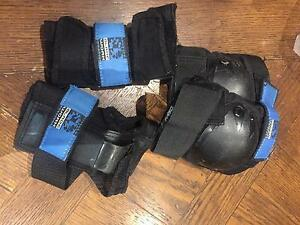 Protective gear- elbow and knee pads Hawthorn Boroondara Area Preview