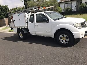2008 Nissan Navara RX Diesel D40- with tool boxes and racks Pascoe Vale South Moreland Area Preview