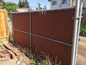 """Gate privacy fence 12*6"""""""