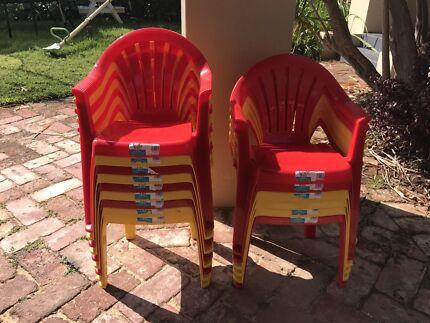 15 kids plastic chairs