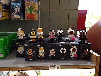 Korea Naver Line Rangers Brown Cony Sally Moon James Mascot 8Cm Figure Gift L297