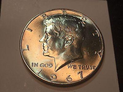 1967 50C Kennedy Half Dollar 40% Silver GEM BRILLIANT UNCIRCULATED - Free S/H