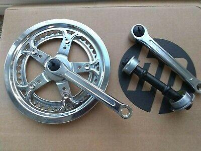 singlespeed SE Noir Pédalier 1x fixie 165 mm 44 T Manivelle acier Set TRACK