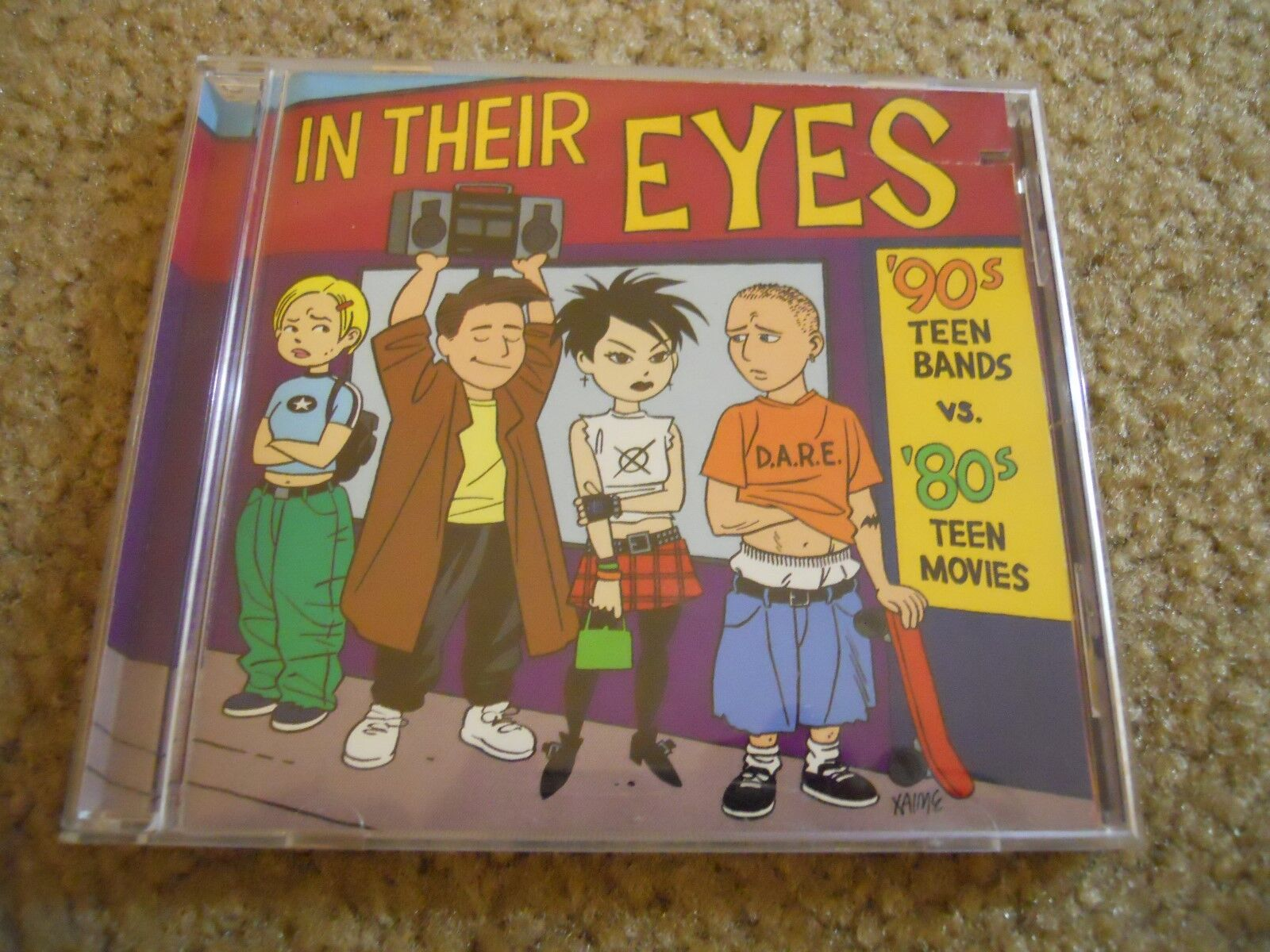 IN THEIR EYES 90 s TEEN BANDS Vs. 80 s TEEN MOVIES THE DONNAS/PHANTOM PLANET - $15.00