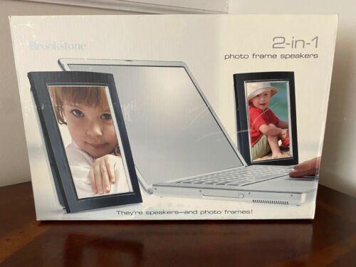 Brookstone Photo Frame Speakers