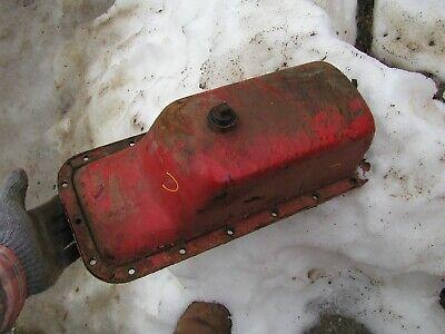 Farmall Ih C Tractor Original Engine Motor Oil Pan Ready To Use