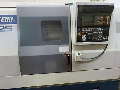 Mori Seiki Sl-25 Cnc Lathe 1993- 3 Bore Tail Stock