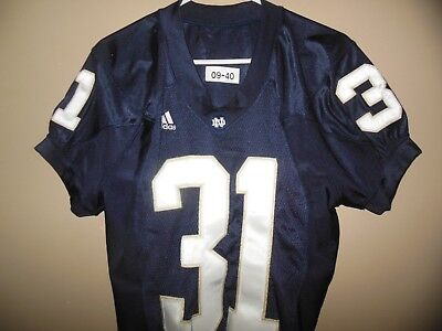 e59e6a9ee8f College-NCAA - Notre Dame Game Used Football - Trainers4Me
