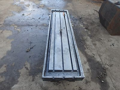 83 X 21 X 6 Steel Welding T-slotted Table Cast Iron Layout Plate 3 Slot