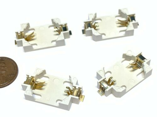 4 pieces CR2032 Button Coin Cell Battery Holder Case Box Wire A26