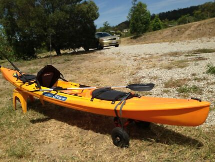 SCUPPER OCEAN KAYAK 4.5m - VERY GOOD CONDITION
