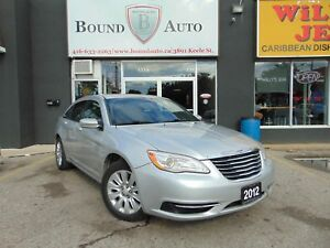 2012 Chrysler 200 LX|POWER GROUP|CRUISE CONTROL|NO ACCIDENT