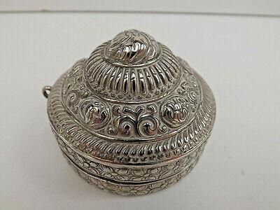 Antique 19th Century Bhutanese Betel Nut Lime Box