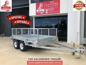 10X6 Tandem Box Trailer Hot Dip Galvanised Electric Brakes 2800kg ATM Watsonia Banyule Area Preview