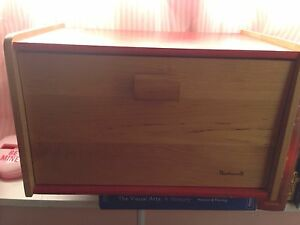 Wooden storage box 14.5x8.5