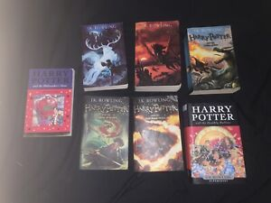HARRY POTTER BOOK SET incl. First Edition