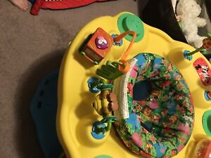 Exersaucer baby play