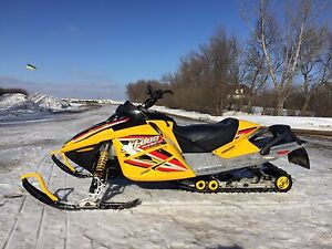 2005 Ski-Doo Renegade 800 and Polaris XC 600