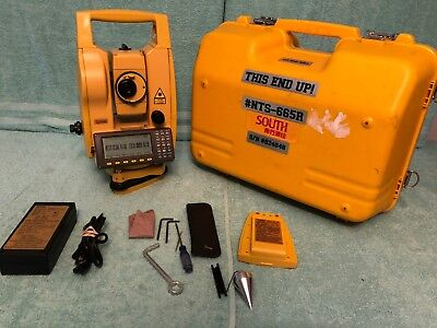 South Nts-665r Reflectorless Total Station 660 Series