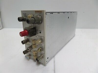 Tektronix Am502 Differential Amplifier