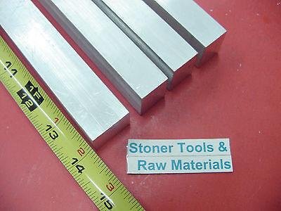 4 Pieces 34 X 1 Aluminum 6061 Flat Bar 14 Long .750 Solid New Mill Stock