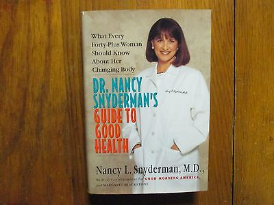 Nancy Snyderman Nbc News Signed Book Guide To Good Health 1996 1St Edit Hardback