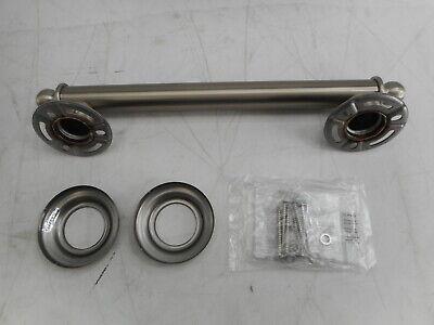 Moen YG2212BN Brantford 12-Inch Designer Grab Bar, Brushed Nickel