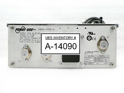 Power-one Hbaa-40w-a Power Supply Delta Design 1947972-001 Summit Atc Used