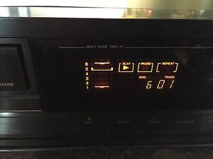 JVC XL-M300 6 Disc CD Changer