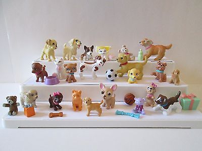 32 Piece lot Barbie & other Brands Pets Animals 3 cats 17 dogs accessories
