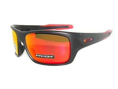 sale~OAKLEY TURBINE 9263-37 RUBY FADE PRIZM RUBY  SunglasseS