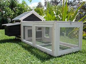 Chicken Coop Somerzby Deluxe Cottage Rabbit Hutch Guinea Pig Cage Somersby Gosford Area Preview