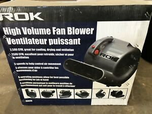 High Volume Fan Blower (almost new)