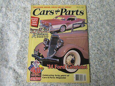 Cars & Parts Magazine Jan 97 - 57 Buick Riviera 1934 Ford - Pls more- Ships - Buick Riviera Car Parts