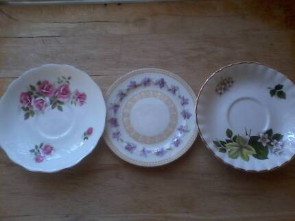 two saucers and plate Gagebrook Brighton Area Preview