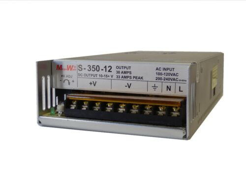 33 Amp 12 Volt DC 13.8V Regulated Power Supply 30A Real MegaWatt®