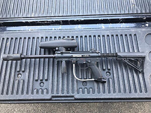 Tippman A5 Paintball Gun w Cyclone Feed EGrip + $200 obo